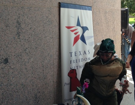 Rather than promote good science in Texas textbooks, the so-called Texas Freedom Network throws dinosaur costume parties instead. While they party on, an entire generation of Texas students will be left in the dark regarding 21st Century Science.